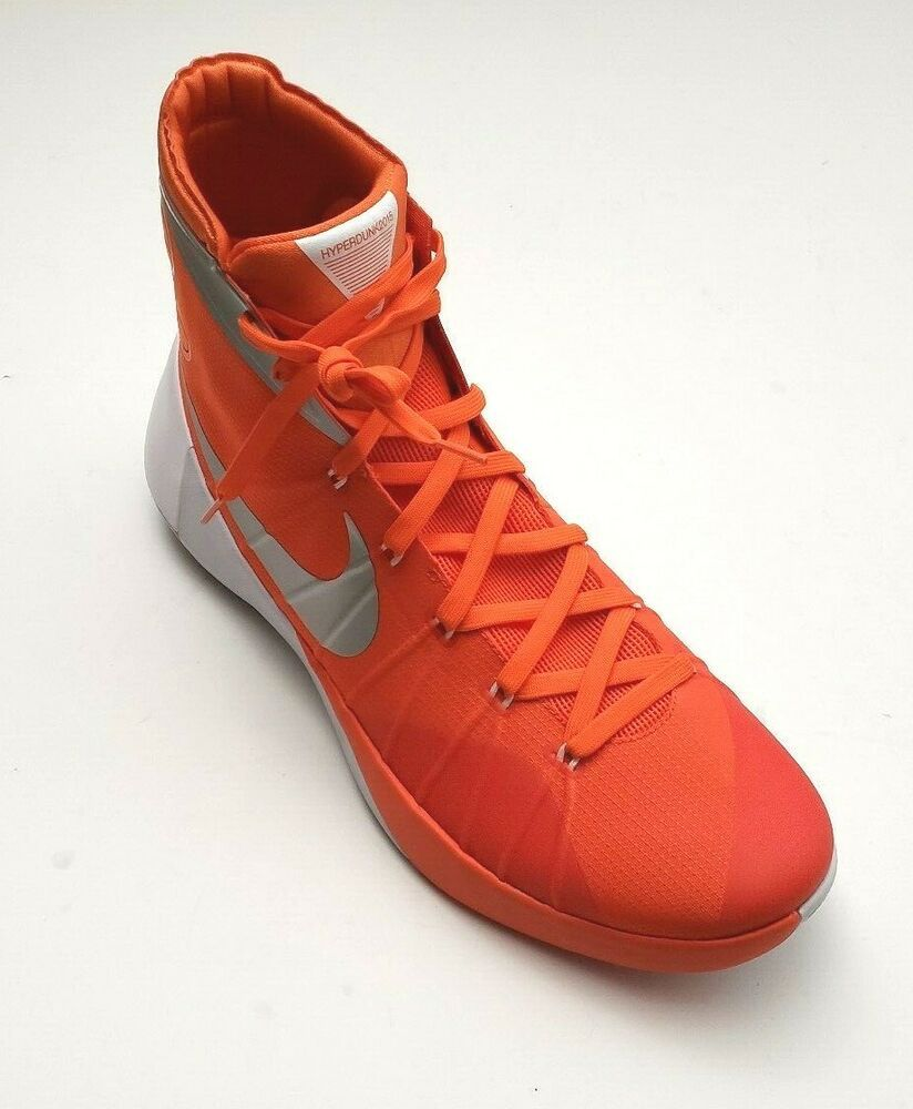 Nike Men's Hyperdunk 2015 TB Basketball Shoes OrangeWhite
