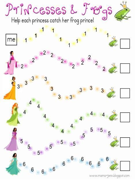 Fit For Royalty! - Fun Math Games for Preschool | Fun math games ...