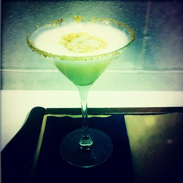 Key Lime Pie Martini From Gild Hall's New Cocktail Menu