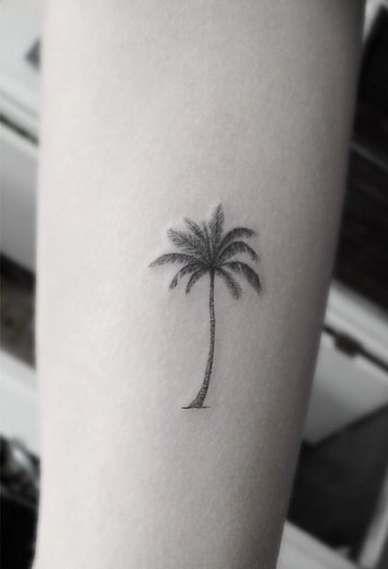 Photo of Super Palm Tree Tattoo Arm Dr Woo Ideas