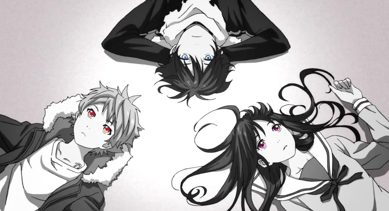 Yukine, Yato and Hiyori // Noragami Noragami anime