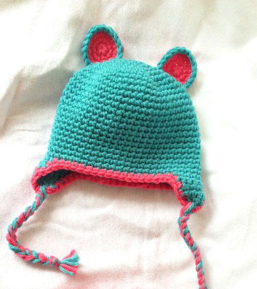 Free Crochet Pattern Baby Reindeer Hat : Free Baby Bear Hat Crochet Pattern - Bobbles & Baubles ...