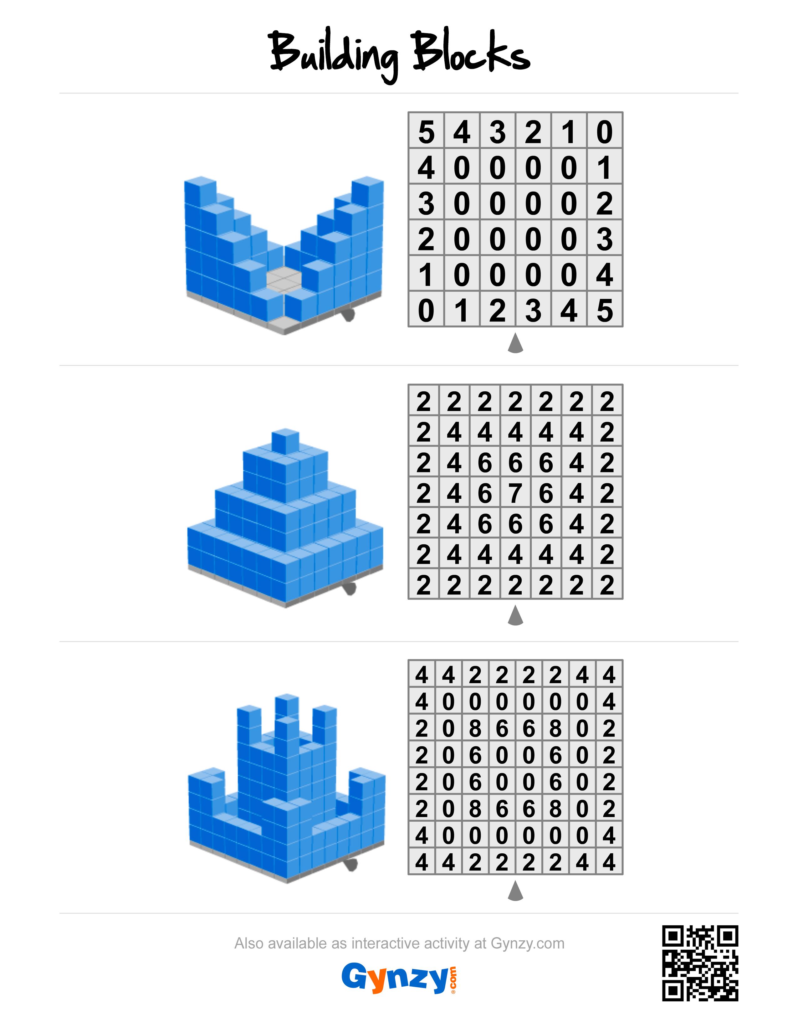 3d Building Blocks Build With Legos Lego Printables