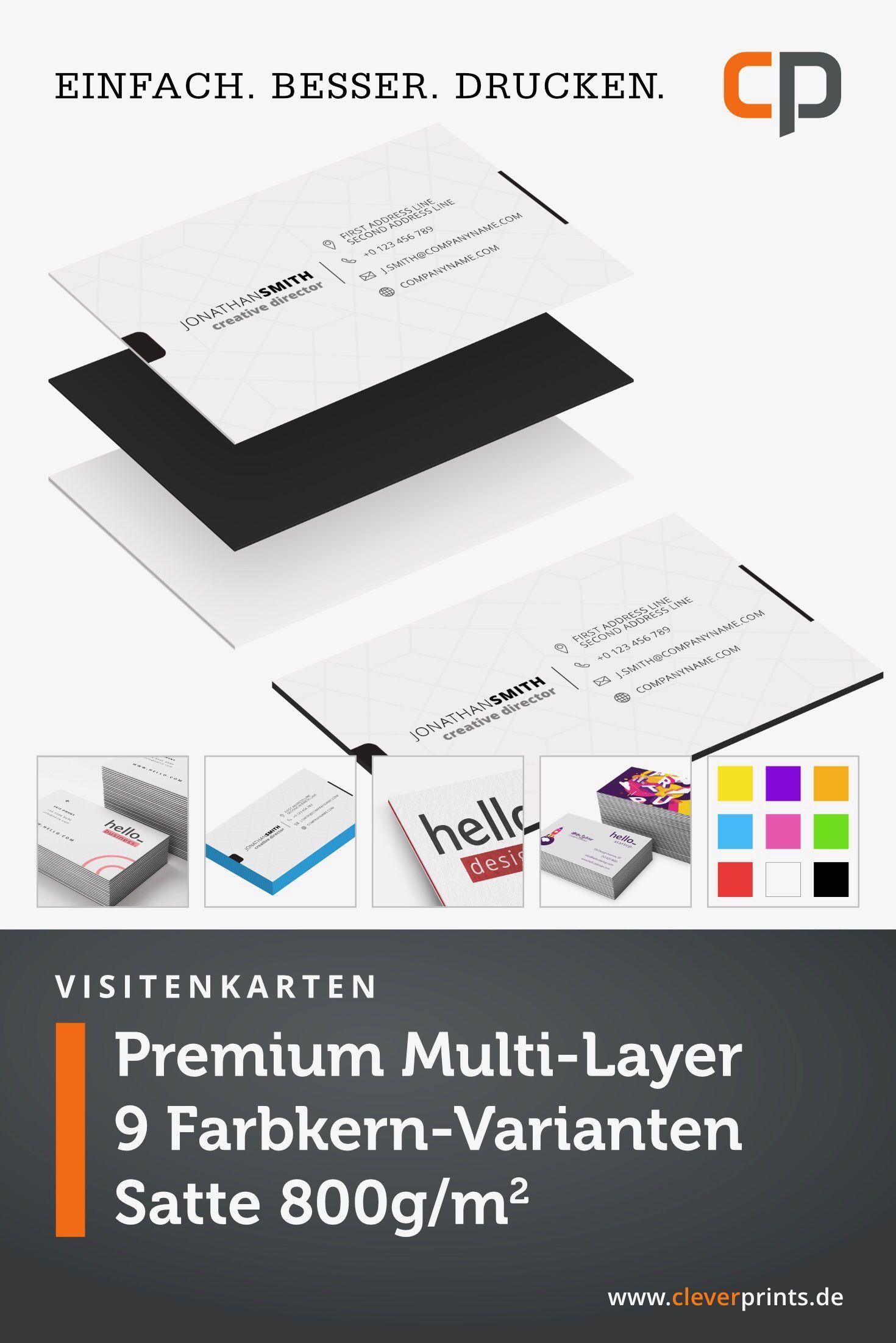 Premium Materialsandwich Mit Insgesamt 800g Cleverprints