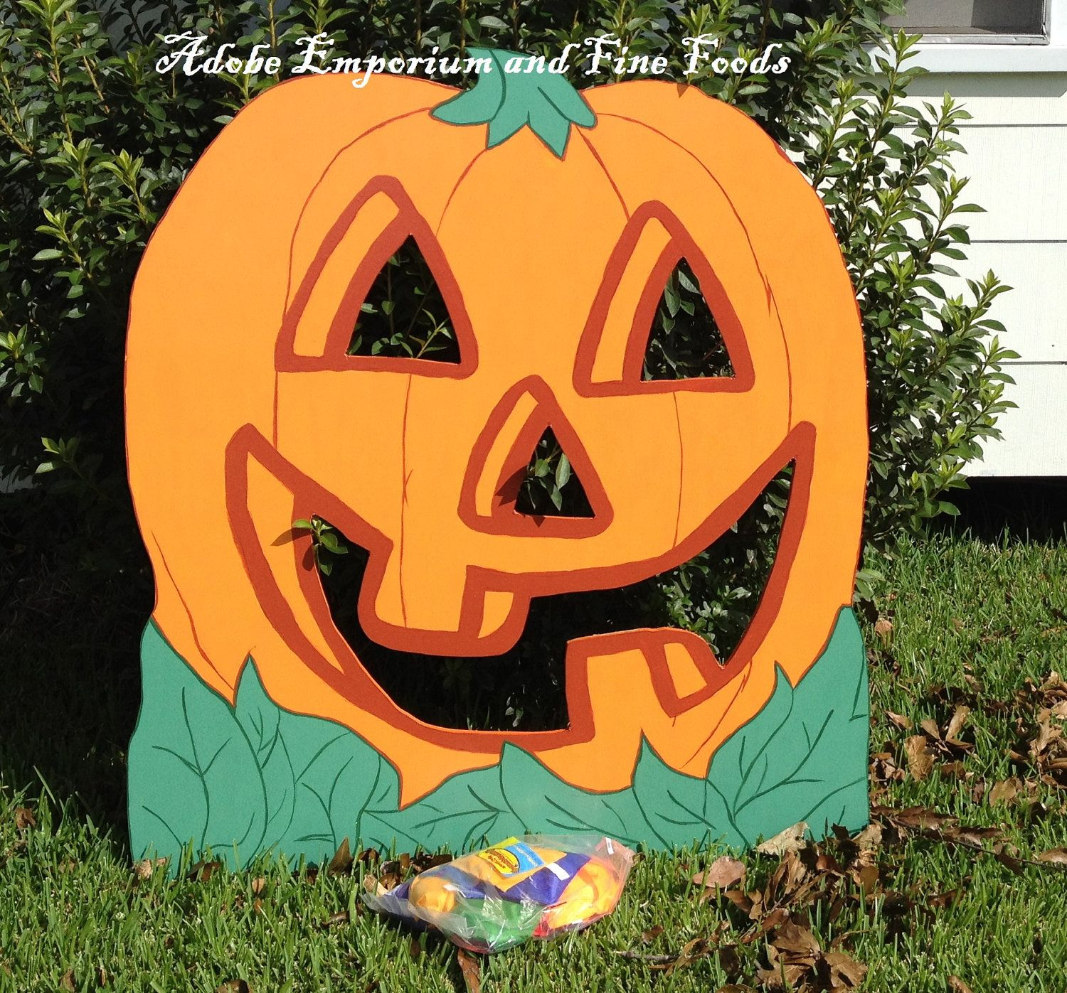 Miraculous Pumpkin Bean Bag Game Wooden Yard Art In 2019 Classroom Onthecornerstone Fun Painted Chair Ideas Images Onthecornerstoneorg