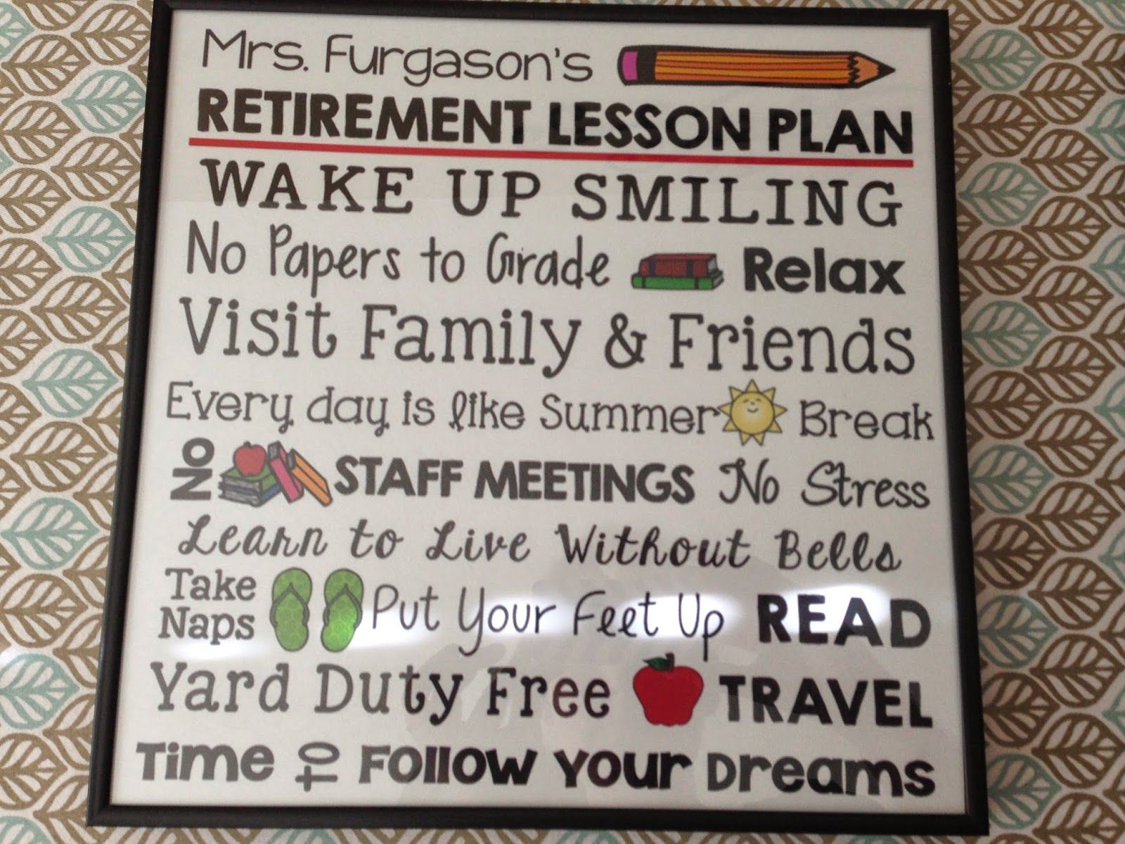 Summer Vacation is Finally Here | Teacher retirement gifts ...