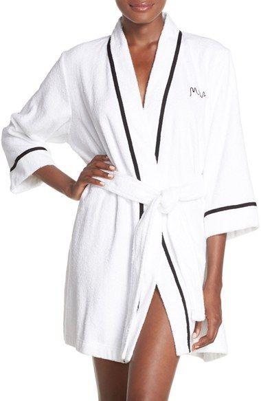 033db07655 kate spade new york bridal terry robe