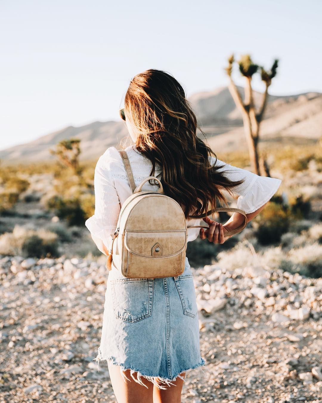 fac70a0a81 The new Melissa Mini Backpack is perfect for adventures