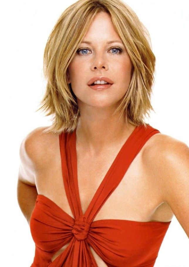 When Meg Ryan Goes For The Long Hair Look Shell Keep It Looking