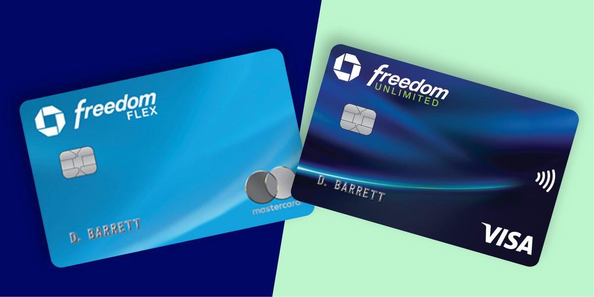 Credit Card Comparison Chase Freedom Flex Vs Chase Freedom Unlimited Business Insider Business I Chase Freedom Travel Credit Cards Chase Ultimate Rewards