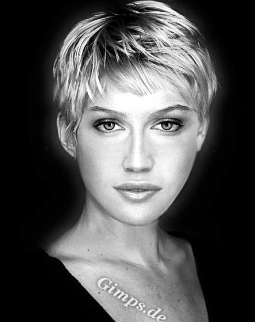 Image detail for -Pictures of really short haircuts for pictures 2