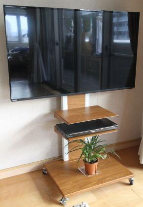 楽天市場 送料無料 32 52型対応 壁寄せテレビスタンド Ocf 450iii テレビ壁寄せスタンド テレビ台 Tvスタンド 壁掛け風 液晶 テレビ壁寄せ金具 テレビスタンド 壁寄せ 音と映像設備のたのんますわ 未購入を含む みんなのレビュー 口コミ テレビ