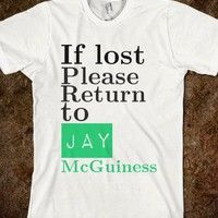 jay mcguiness lost the wanted