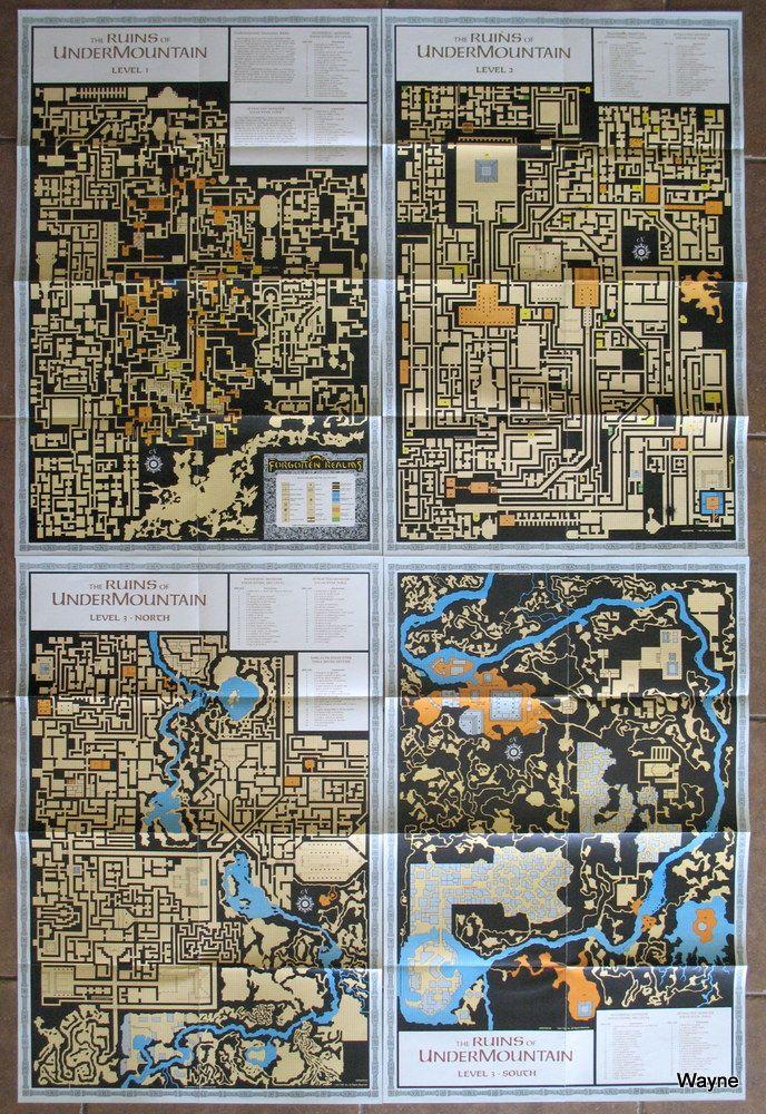 Forgotten Realms - Waterdeep & Undermountain (AD&D