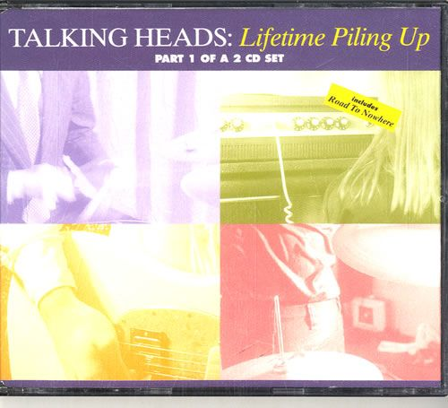 talking heads lifetime piling up uk 2 cd single set double cd