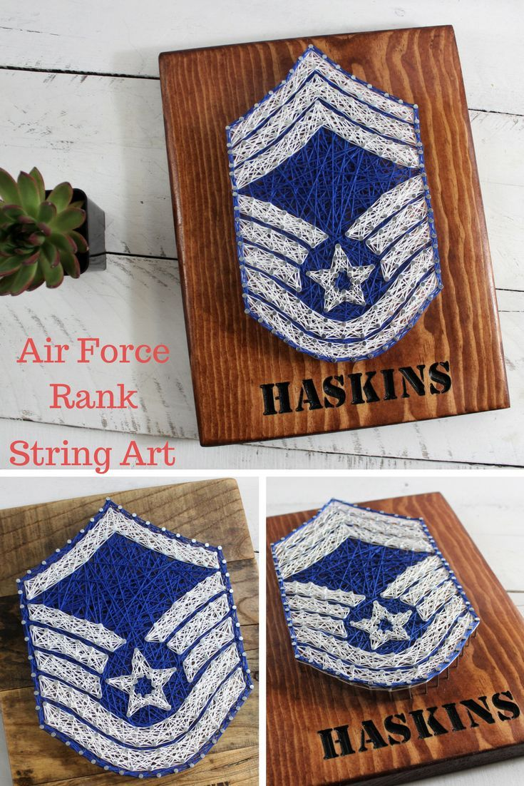 Air Force SignAir Force Rank String ArtUSAF Retirement