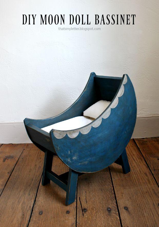 diy moon doll bassinet