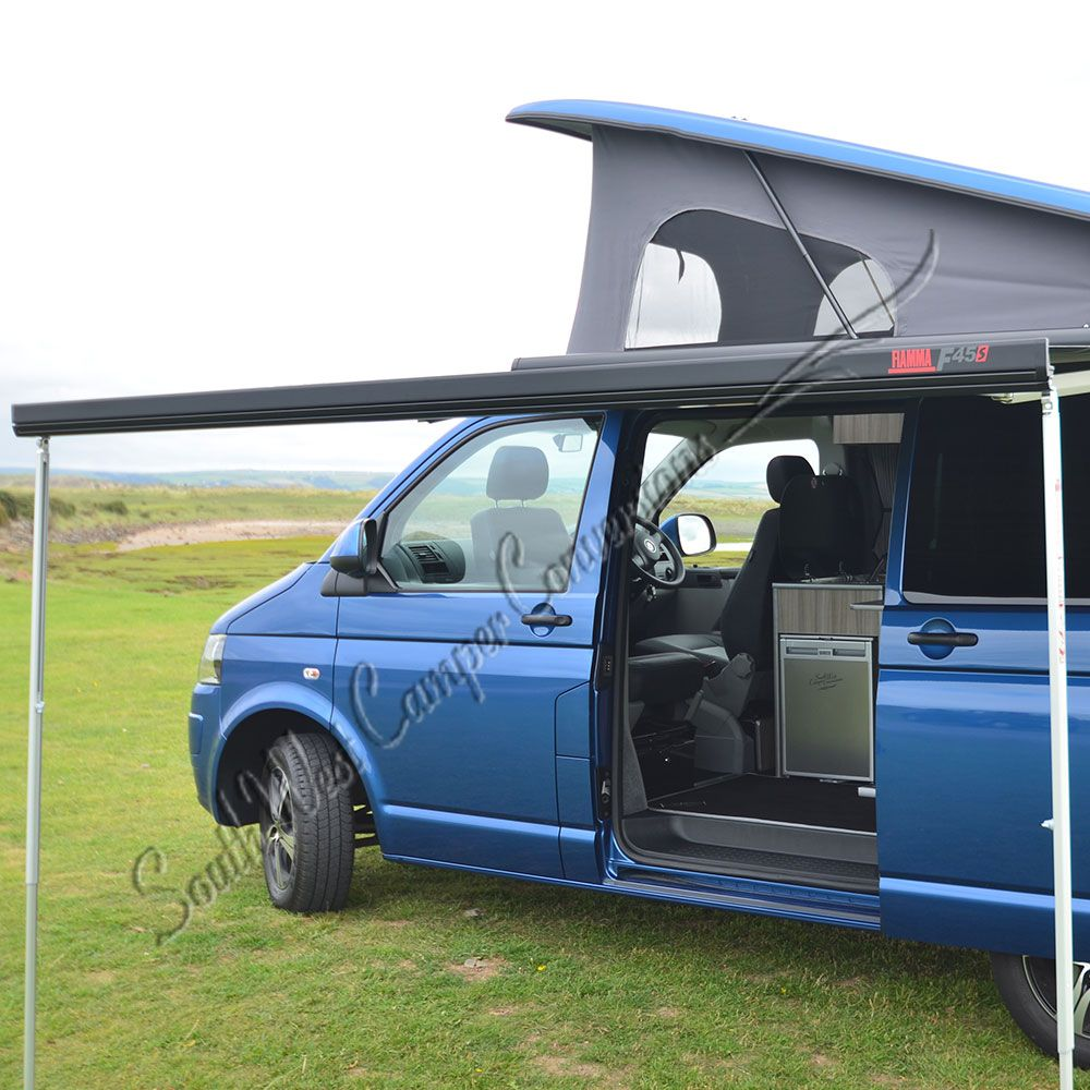 Canopy Awning for VW T5 or T6 - Fiamma F45S   Camper ...