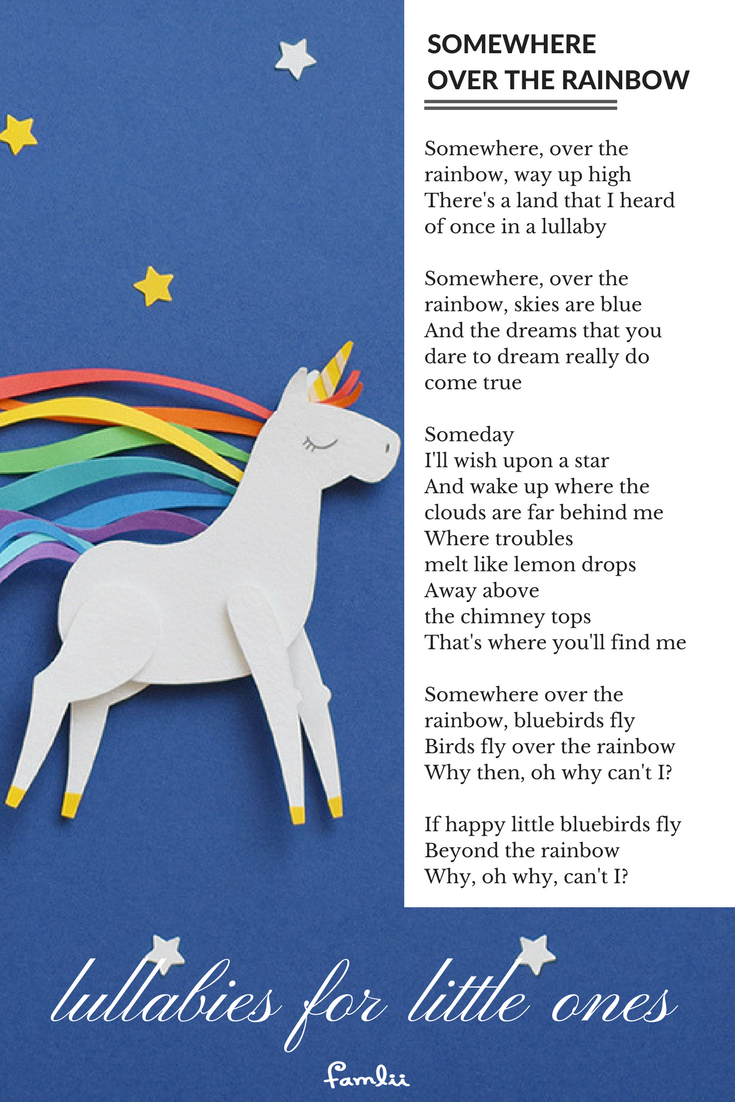 Somewhere Over The Rainbow A Hopeful Lullaby Of Imagination