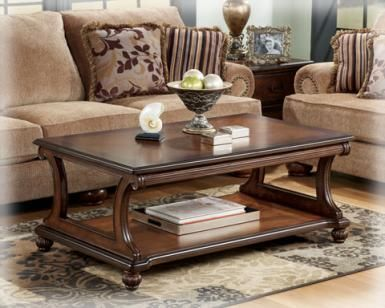Clearance Furniture Stores In Delaware | Ashley T489 Rectangular Cocktail  Table | Ashley Furniture Delaware