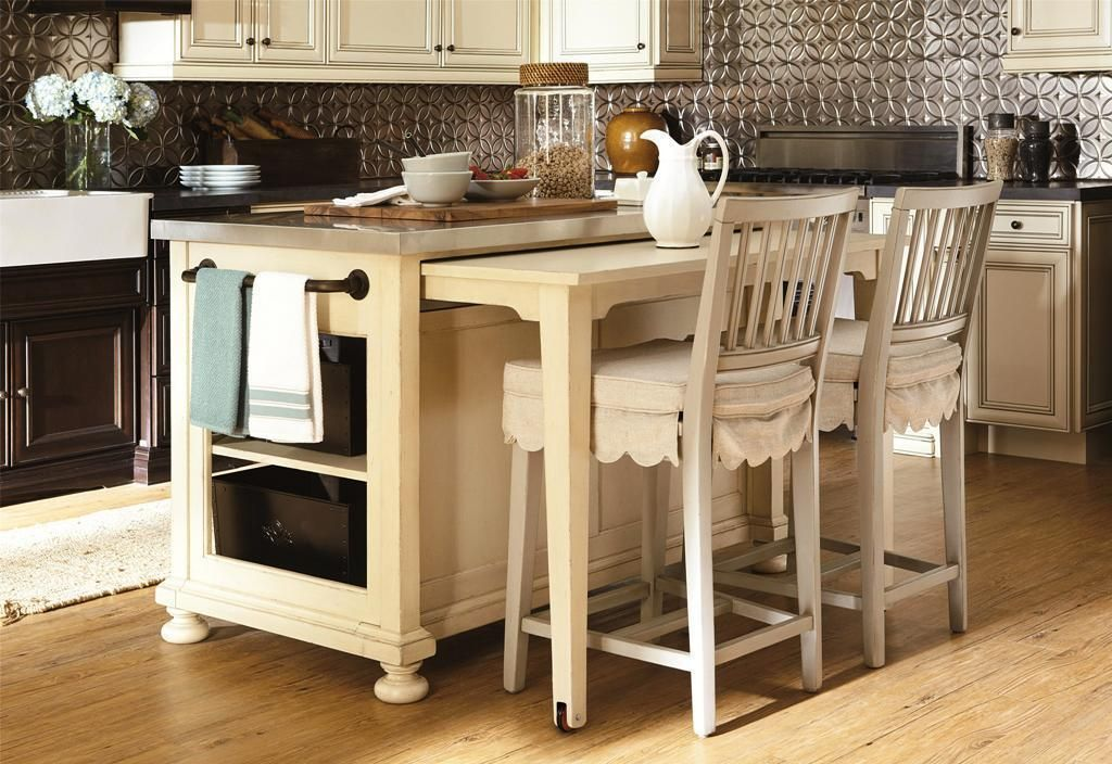 Movable Kitchen Island Ideas With Slide Out Table | Decorating Ideas