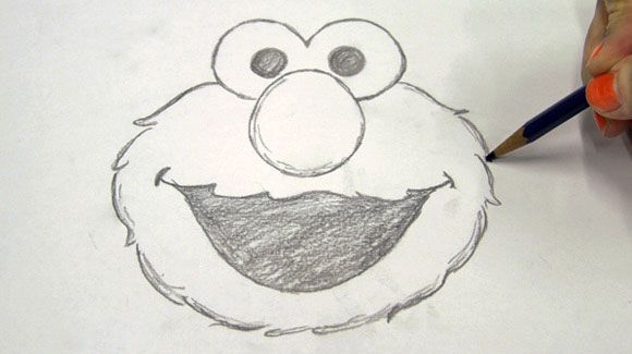 Tidy Up Drawings Elmo Sketches