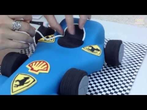 Cake Car Race Car Kikh Racing Car Cake Car Cake Epicenter Touches Youtube Gateau