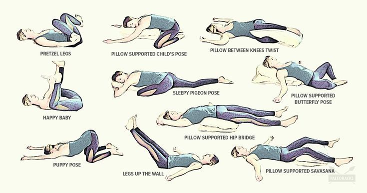 Yoga Moves In Bed