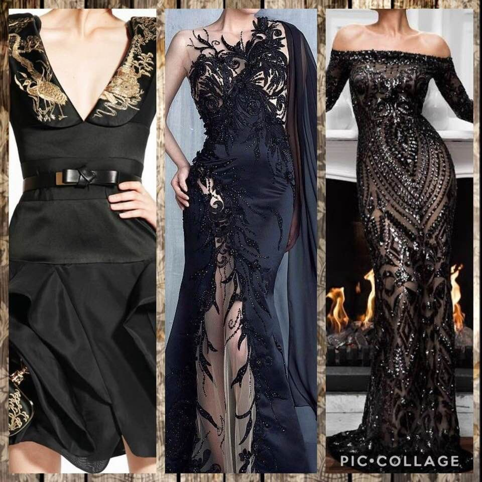 Pin by danielle dung diep on black evening dresses pinterest
