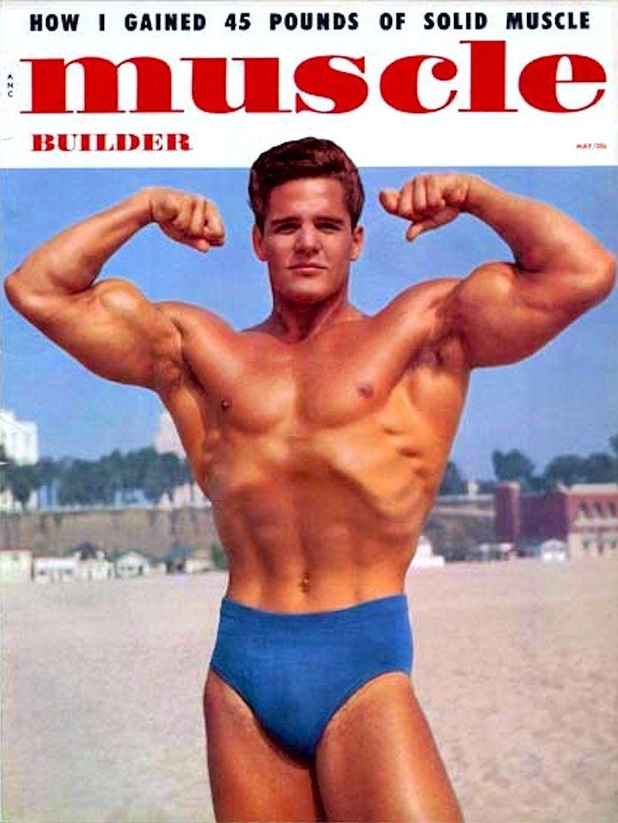 DICK DuBOIS Mr. America 1954. 'MUSCLE BUILDER' cover