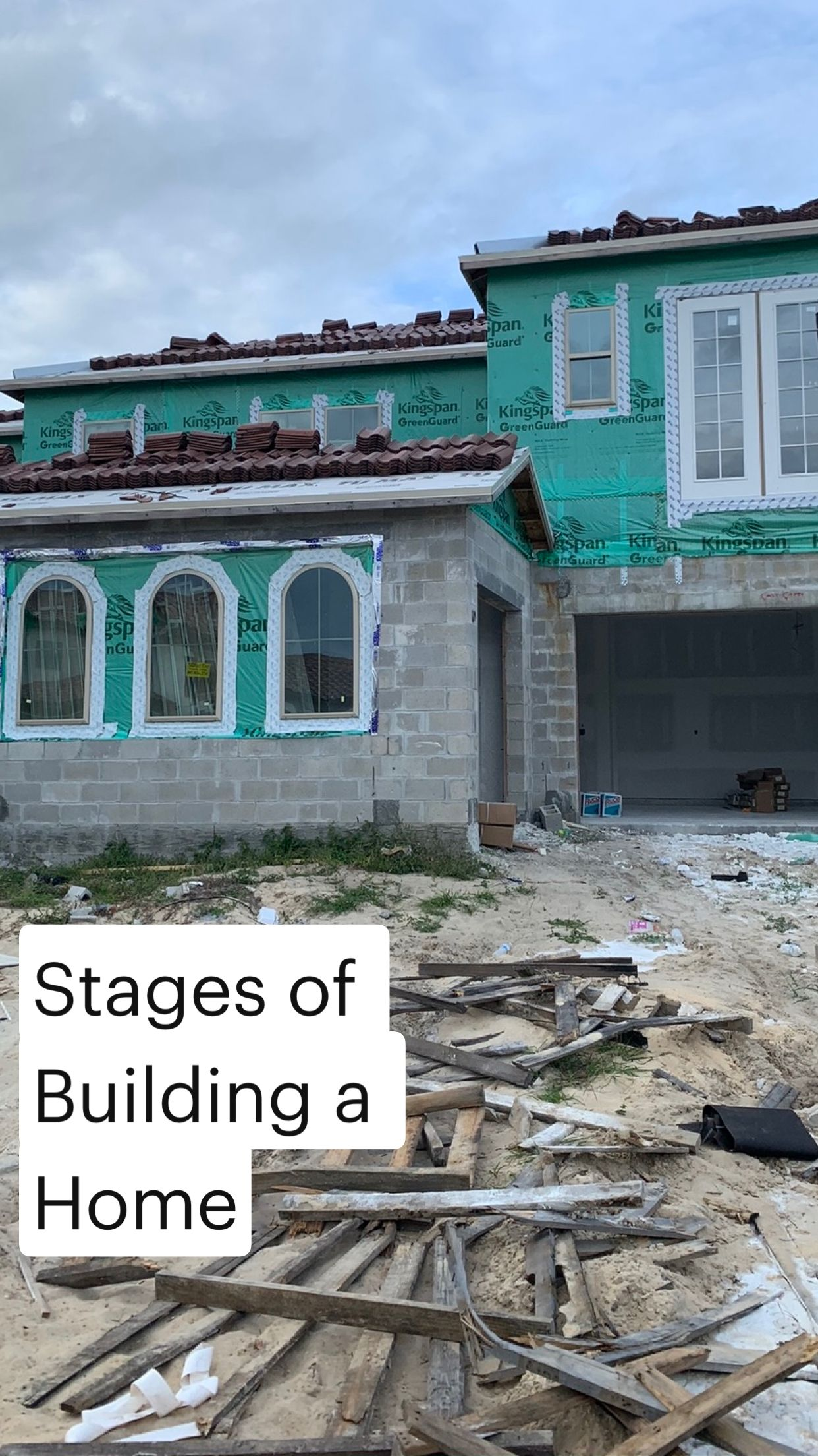 Building or renovating a home  happens with key steps along the way.  Check out the process!
