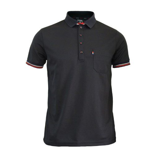 Bcpolo Men's Polo Shirt Black Polo Shirt Short Sleeves DRI FIT Polo Shirt (S(US-X-S-mall)) BCPOLO,http://www.amazon.com/dp/B00K63IQ02/ref=cm_sw_r_pi_dp_yGLAtb076VH6D1Y6