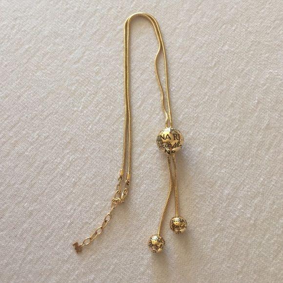 Nina Ricci Jewelry - Nina Ricci Golden Necklace