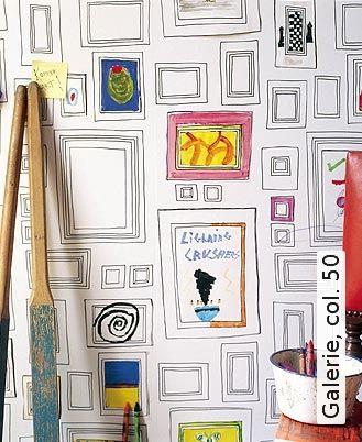 wandgestaltung mit tapeten zirkus, galerie, col. 50 | tapeten, kinderzimmer und fotowand, Design ideen