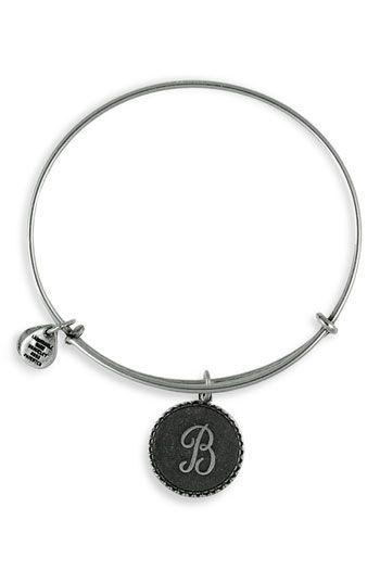 24 Alex And Ani Script Initial Bangle Nordstrom