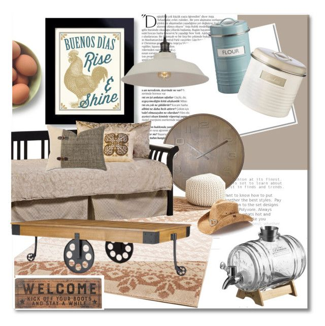 """""""Take me home, country roads"""" by nucasa ❤ liked on Polyvore featuring interior, interiors, interior design, home, home decor, interior decorating, Balmain, Typhoon, NeXtime and Safavieh"""