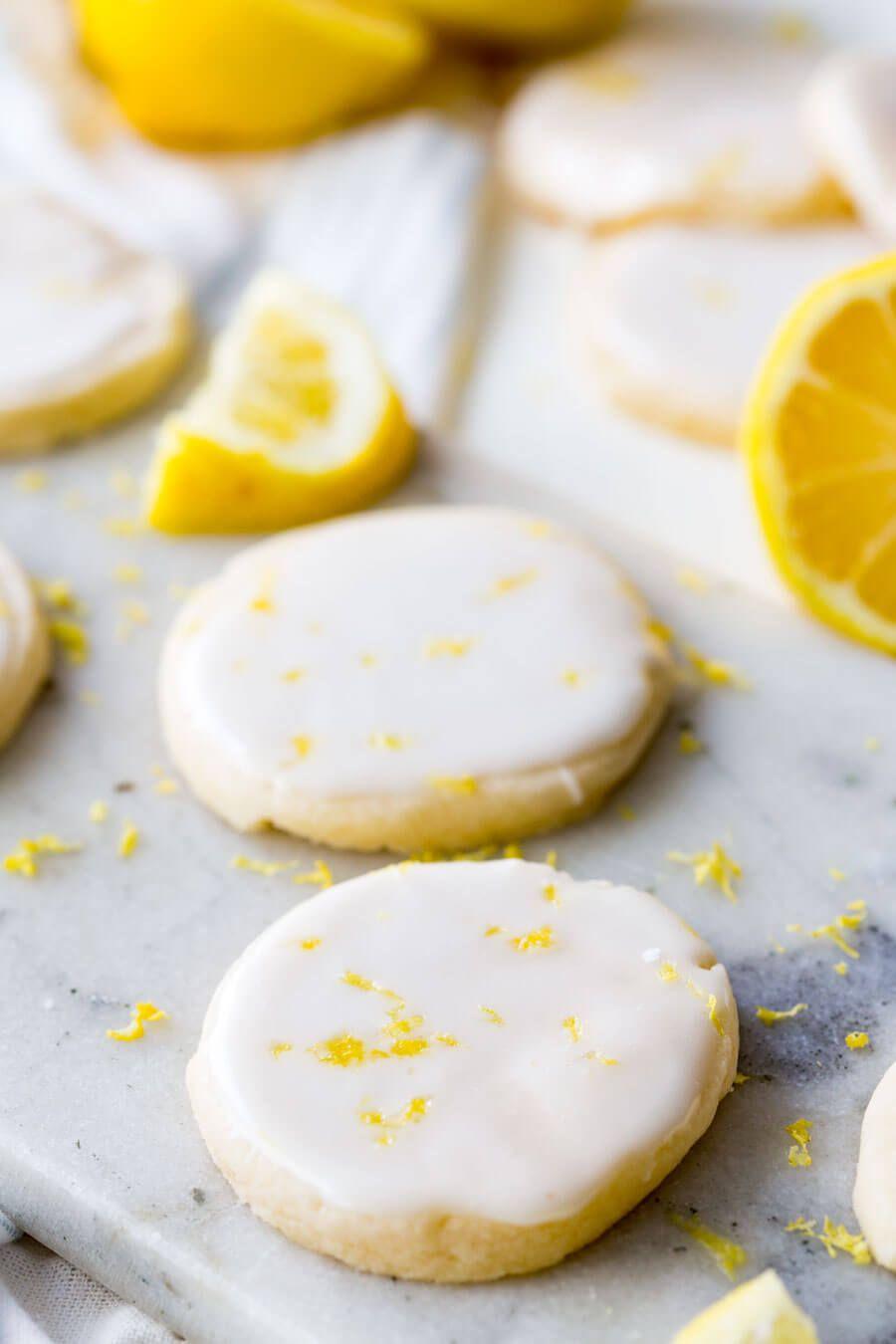 Lemon Shortbread Cookies - Easy Peasy Meals