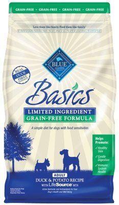 Basics Grain Free Duck Potato 4 Lbs Ctg Other Pet Foods Blue