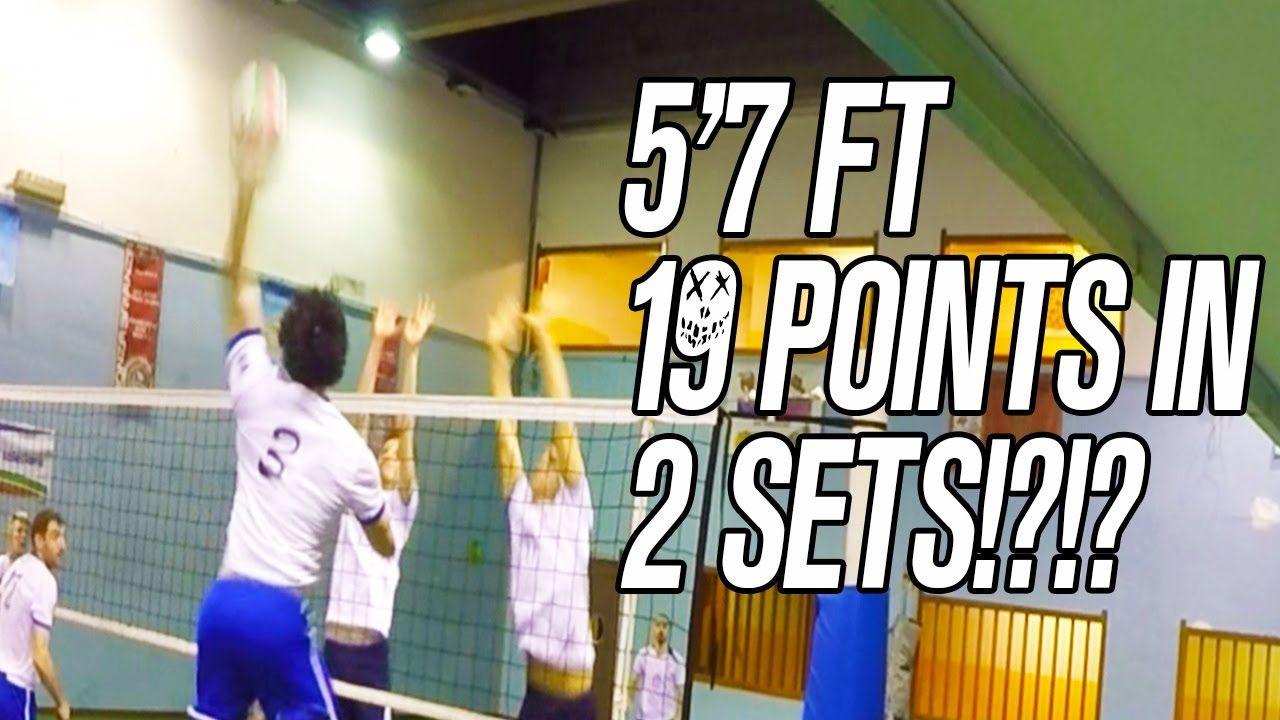 Shortest Volleyball Spiker That Smash 19 Points In 2 Sets 5 7ft Volleyball Spiker Spikers Volleyball