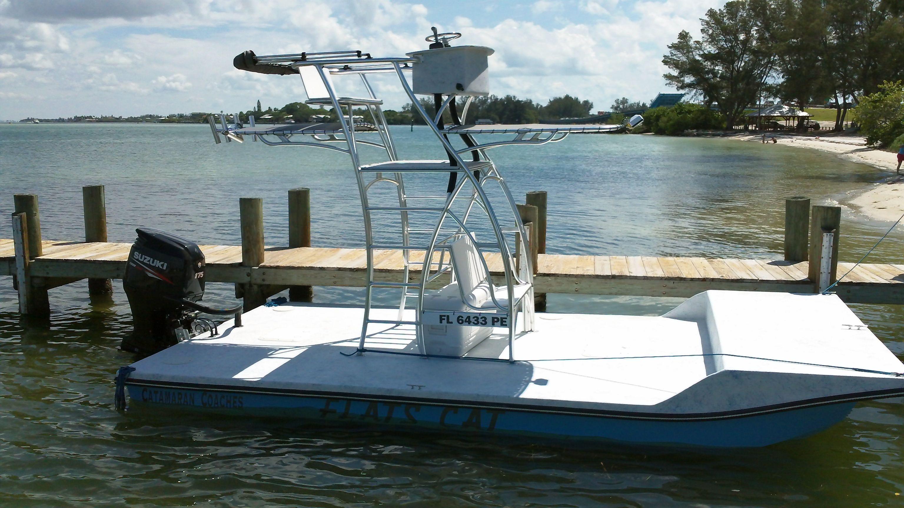 Flats Cat by catamaran coaches | Small Catamarans | Shallow water boats, Boat, Flats boat