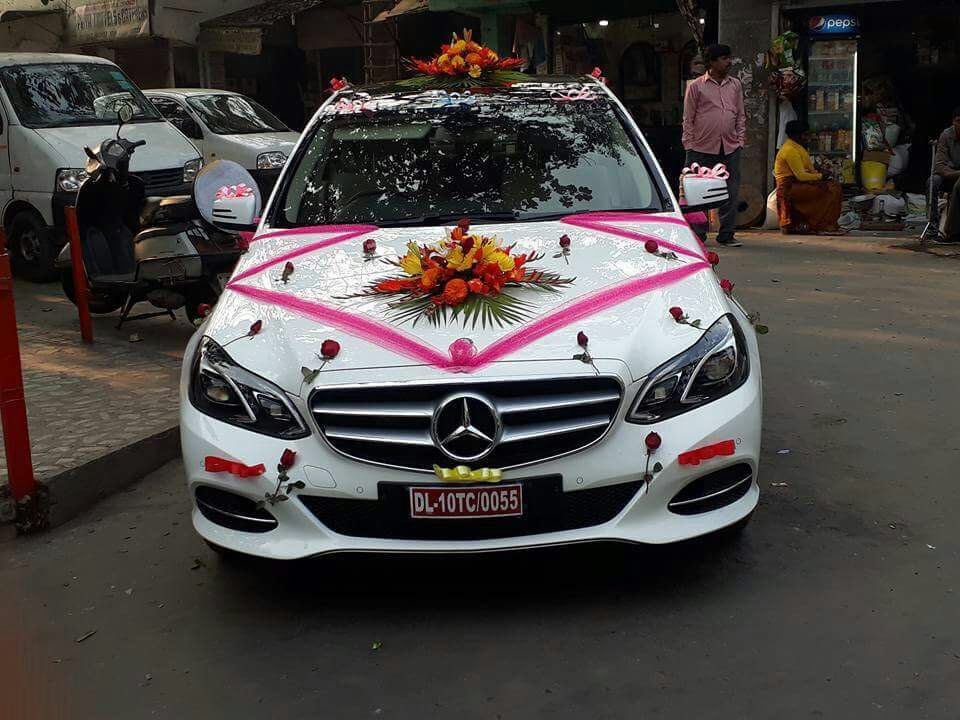 A Truly Magnificent Setting For Your Special Wedding Day Book Wedding Cars Wedding Car Rental In Delhi And Self Wedding Car Wedding Car Decorations Car Decor
