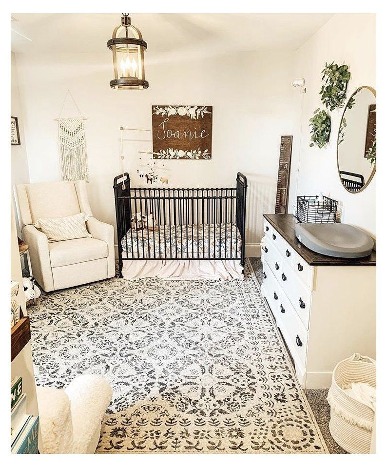 P I N T E R S Katelynpippin Floral Farmhouse Nursery Elegant Vintage Farmhou In 2021 Baby Girl Room Decor