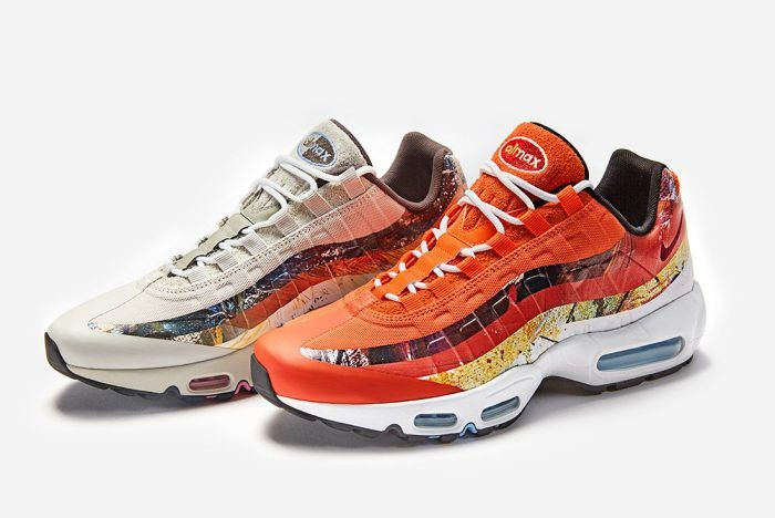 size? x Dave White x Nike Air Max 95 Collection FootLoose  FootLoose