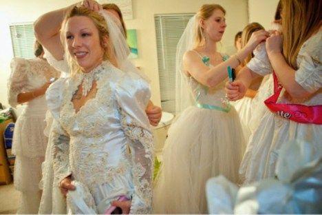 Tacky Wedding Love