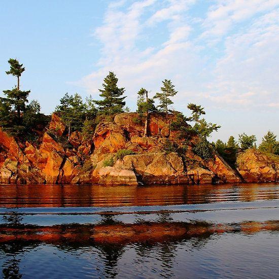 Ox Bay French River Ontario Canada Art Photography Frenchriver Oxbay Landscape Photography Landscape Art Canadian Art