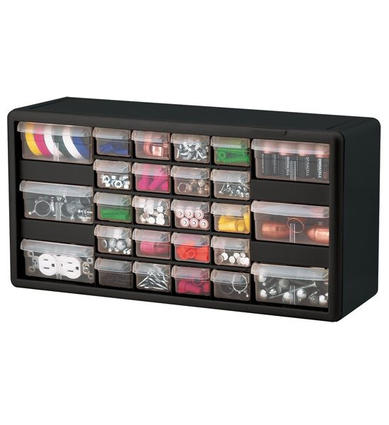 Plastic Drawer Organizer 26 Compartments Plastic Drawer Organizer Nut And Bolt Storage Hardware Storage