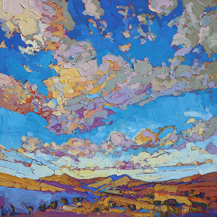 Erin Hanson: Driving Sky