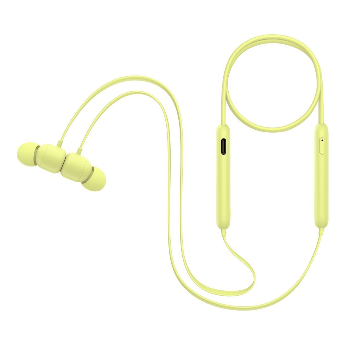 Beats Flex All Day Wireless Earphones Yuzu Yellow Wireless Earphones Bluetooth Earphones Earphone