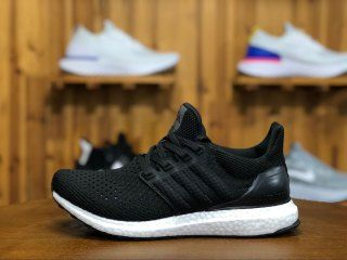 6c12cdbbedccf Adidas UltarBoost UB4. 0 Hollow Black White BY6166 Mens Womens Running Shoes