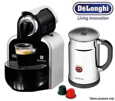 Delonghi Nespresso Essenza Coffee Machine With Aeroccino